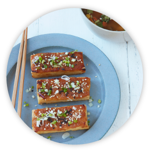 tofu bio au miso et graines de sésame